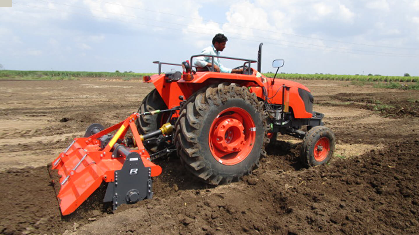 Tractor   Products   Kubota Agricultural Machinery India
